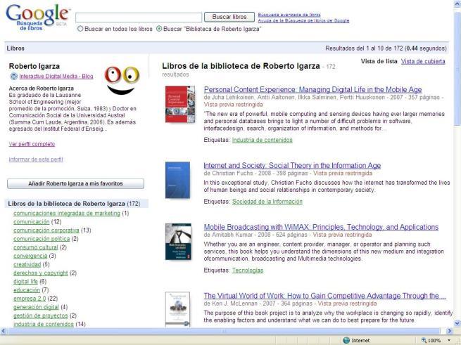 Mi biblioteca-Google